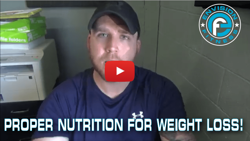 How to lose weight with proper nutrition