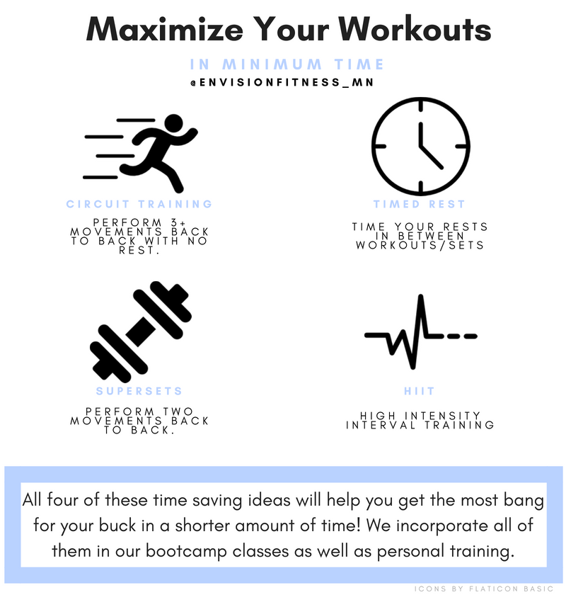 How to Maximize Your Workouts in Minimum Time