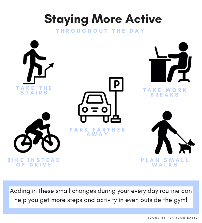 How to Stay Active Throughout the Day
